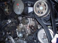 Výměna vodní pumpy Audi A 6 2,5TDI