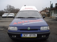 naše služební vozidlo