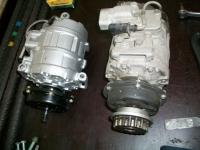 Volkswagen Tuareg 2,5TDI komresor klimatizace