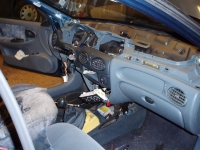 Renault Megane 1,6i výmena radiátoru topení