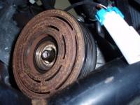 Výměna spojkky kompresoru klimatizace